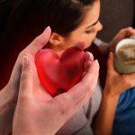 Ohřívač rukou ve tvaru srdce