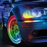 Svítící ventilky – multicolour