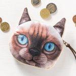 Kočičí peněženka na drobné – model – 1