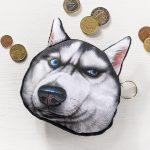 Psí peněženka na drobné – pes černý