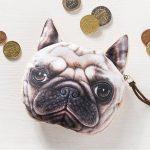 Psí peněženka na drobné – buldoček