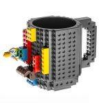 LEGO hrnek – šedá