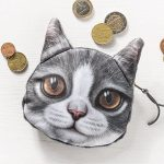 Kočičí peněženka na drobné – model – 3