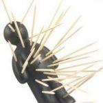 Voodoo panenka na párátka – Černá varianta