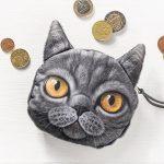 Kočičí peněženka na drobné – model – 4